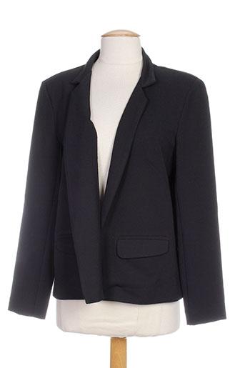 jane wood vestes femme de couleur noir