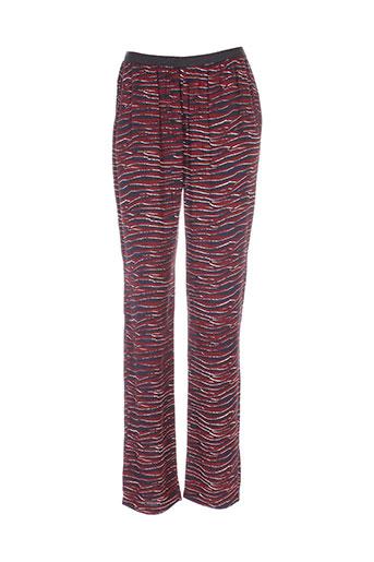 american et vintage pantalons et decontractes femme de couleur rouge