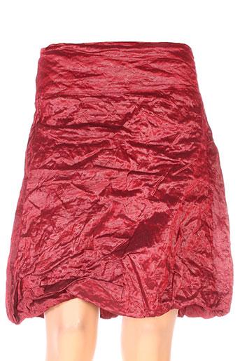 sarah pacini jupes femme de couleur rouge