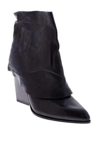 puro boots femme de couleur noir