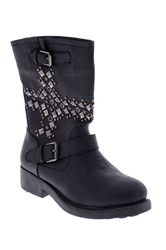 cassis et cote et d et azur boots femme de couleur noir