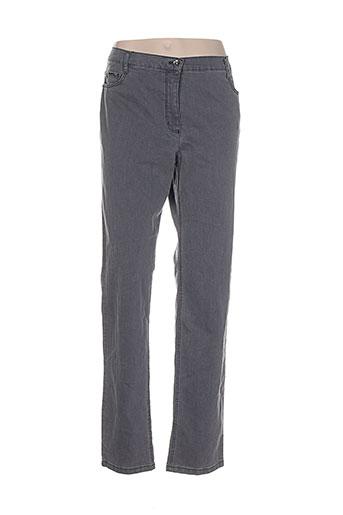 betty et barclay pantalons et decontractes femme de couleur gris