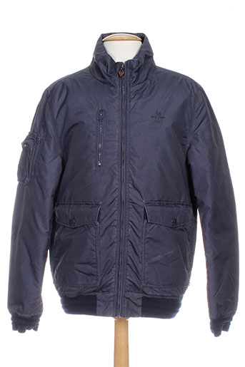 new zealand auckland vestes homme de couleur bleu