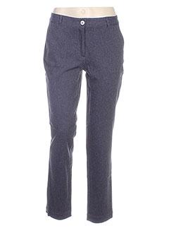 Pantalon casual bleu HARRIS WILSON pour femme