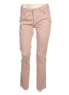 Pantalon casual rose HARRIS WILSON pour femme