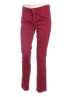 Pantalon casual rouge HARRIS WILSON pour femme