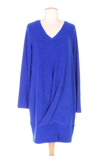 éclà robes femme de couleur bleu