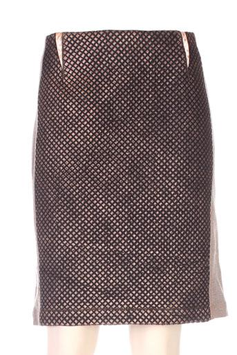 daniela dallavalle jupes femme de couleur noir