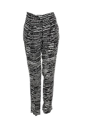 sinequanone pantalons et decontractes femme de couleur noir
