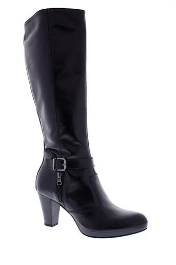 nero et giardini bottes femme de couleur noir