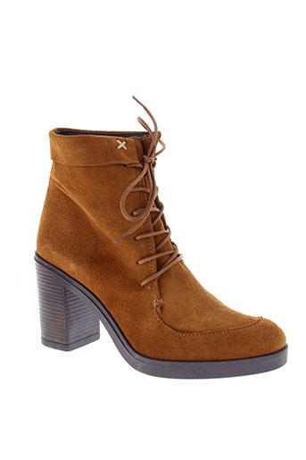 histoires de chaussures chaussures femme de couleur marron