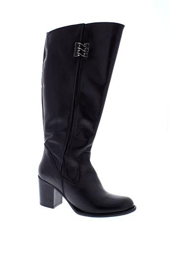 samoa bottes femme de couleur noir