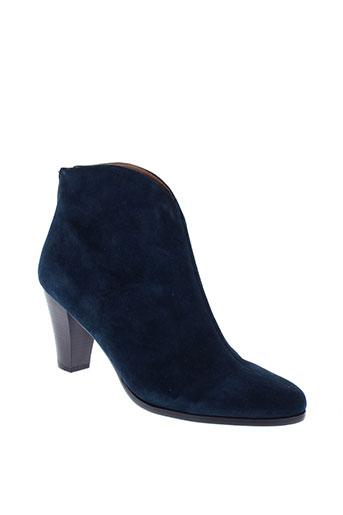karston boots femme de couleur bleu