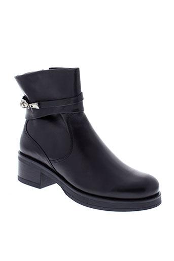 samoa boots femme de couleur noir