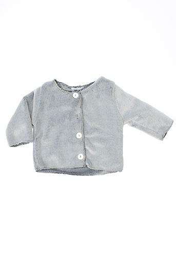 absorba vestes fille de couleur gris