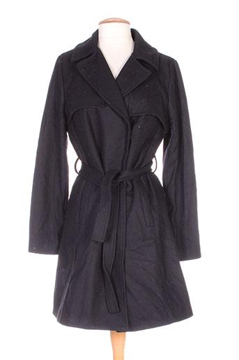 la fee maraboutee manteaux femme de couleur noir
