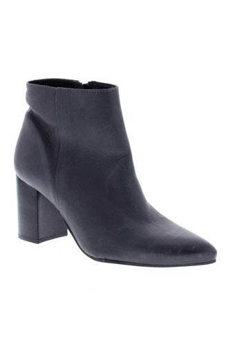 la et fee et maraboutee boots femme de couleur gris