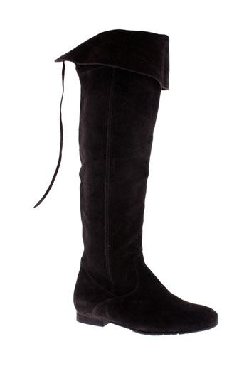 la et fee et maraboutee bottes femme de couleur marron