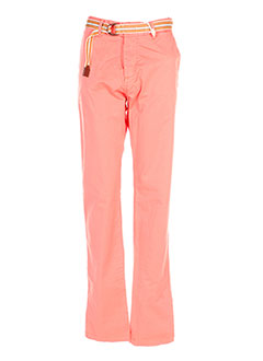Pantalon casual orange SCOTCH SHRUNK pour garçon
