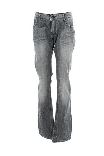 kaporal jeans fille de couleur gris
