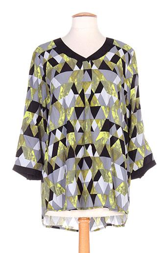 ciso chemises femme de couleur vert