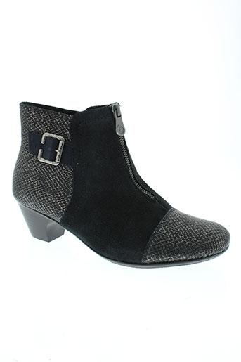 rieker boots femme de couleur bleu