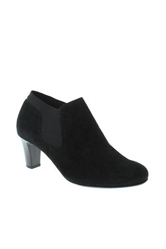gabor boots femme de couleur noir