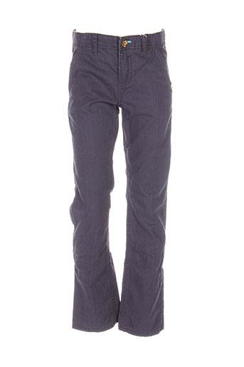 mexx pantalons garçon de couleur bleu