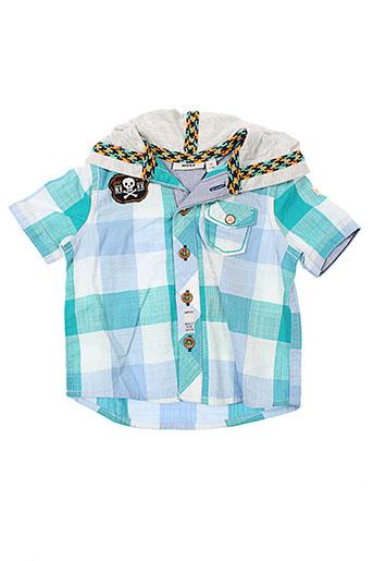 mexx chemises fille de couleur bleu