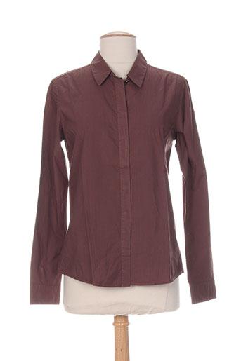 bensimon chemises femme de couleur marron