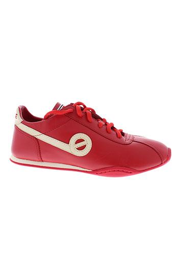 no et name baskets femme de couleur rouge