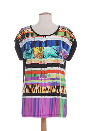 arona san francisco t-shirts femme de couleur noir
