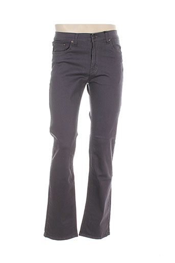 avanez jeans et coupe et droite femme de couleur gris