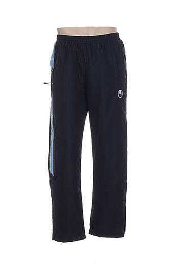uhlsport pantalons homme de couleur bleu