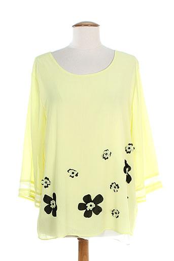 evanna tuniques femme de couleur jaune
