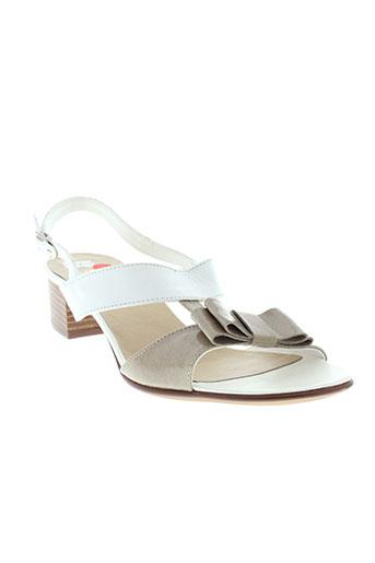 samoa sandales et nu et pieds femme de couleur beige