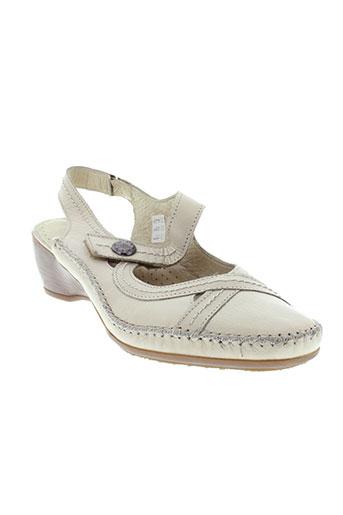 altex chaussures femme de couleur beige