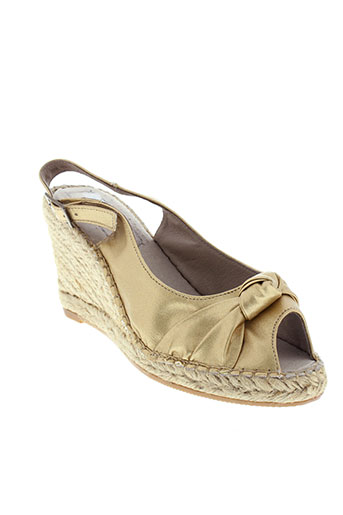rondinaud sandales et nu et pieds femme de couleur jaune