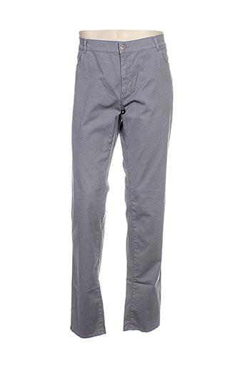 trussardi jeans pantalons homme de couleur gris