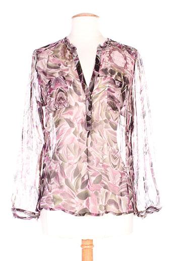 christophe sauvat chemises femme de couleur rose