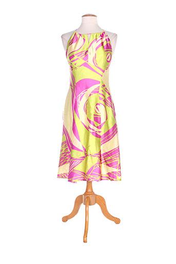 helena sorel robes femme de couleur rose