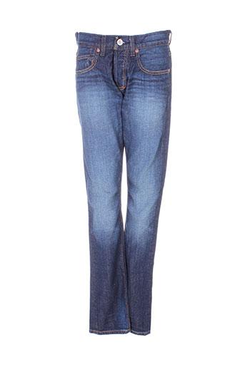 quiksilver jeans homme de couleur bleu