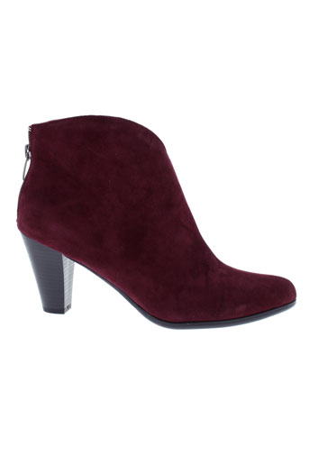 karston chaussures femme de couleur rouge