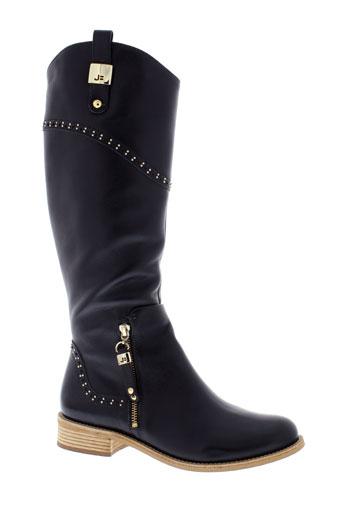 jorge et bischoff bottes femme de couleur noir