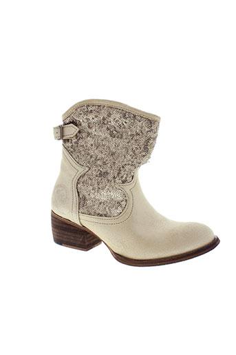 republyka boots femme de couleur beige