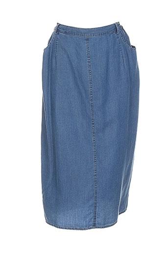 b de brel jupes femme de couleur bleu