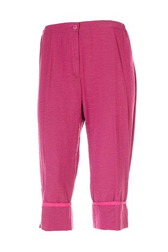 griffon pantacourts femme de couleur rose