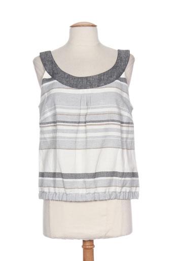 nominal chemises femme de couleur gris