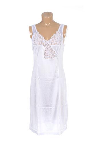 20 et 20 jupons et fonds et de et robe femme de couleur blanc (photo)
