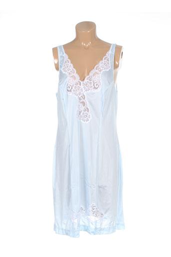 20 et 20 jupons et fonds et de et robe femme de couleur bleu (photo)